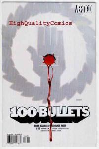 100 BULLETS #56, NM+, Brian Azzarello, Voodoo, Vertigo, more in store