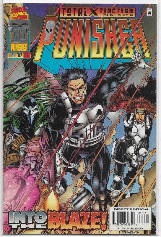 Punisher (vol. 3, 1995) #15 FN (Total Extinction 4) Ostrander/Lyle, MLF