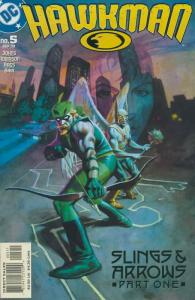 Hawkman (4th series) #5 VF/NM; DC | save on shipping - details inside