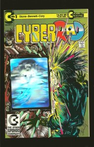 Continuity Books CyberRad #1 November (1992)