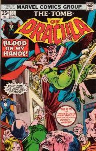 Tomb of Dracula (1972 series) #33, VF- (Stock photo)