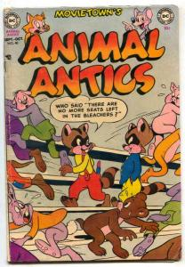 Animal Antics #40 1952- Raccoon Kids VG