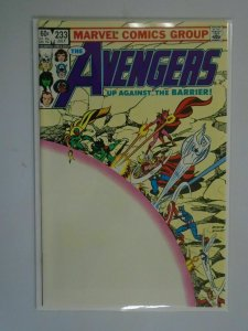 Avengers #233 Direct edition 8.0 VF (1983 1st Series)