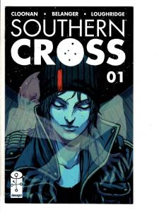 Lot Of 6 Southern Cross Image Comic Books # 1 2 3 4 5 6 Cloonan Belanger JC12
