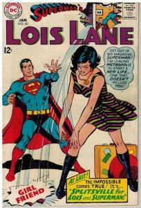 LOIS LANE 80 VG-F Jan. 1968 COMICS BOOK