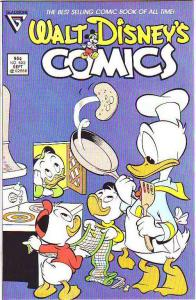 Comics and Stories, Walt Disney's #522 (Sep-87) MT- Super-High-Grade Donald D...