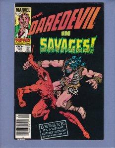 Daredevil #202 Mark Jewelers Variant VF Marvel 1984