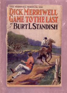 MERRIWELL SERIES-#186- BURT L. STANDISH-1910-DIME NOVEL FR
