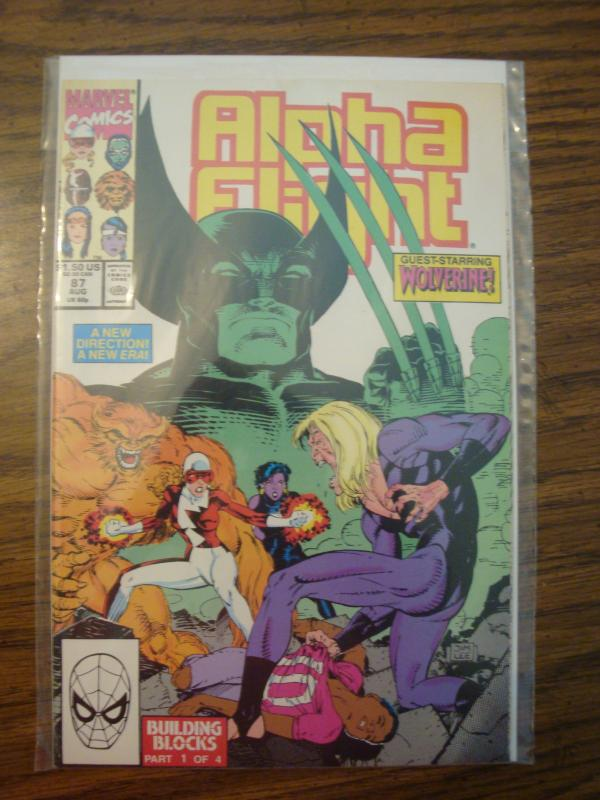Marvel Comics Alpha Flight 87 NM
