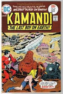 KAMANDI #30, VF, Jack Kirby, Last Boy on Earth, 1972, more JK in store