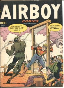 AIRBOY VOL 4 #11-HEAP APPEARS-SIMON & KIRBY-LINK THORNE THE FLYING FOOL STORY