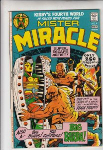 Mister Miracle #4 (Oct-71) NM- High-Grade Scott Free (Mister Miracle), Big Barda