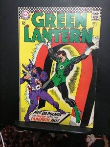 Green Lantern #47 (1966) high-grade 1st Doctor Polaris key!  VF/NM Wow!