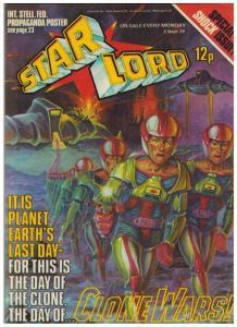 STAR LORD (BRITISH WEEKLY) 17 F-VF ( 9/ 2/78) B McCarth