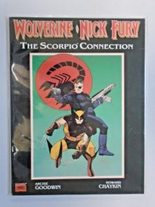 Wolverine/Nick Fury The Scorpio Connection GN #1, 1st Printing 6.0 (1990)