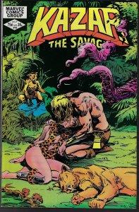 Ka-Zar the Savage #16 (Marvel, 1982)