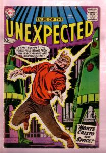 TALES OF THE UNEXPECTED #34 1959- ALIENS - RETRO ROCKET VG
