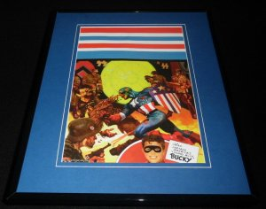 Marvel Zombies Captain America #1 Framed 11x14 Poster Display