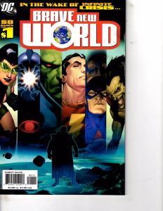 Lot Of 2 Comic Books DC Brave New World #1 and Brave & The Bold #174  LH17