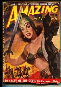 Amazing Stories-Pulps-6/1949-Alexander Blade-Rubbert Carlin