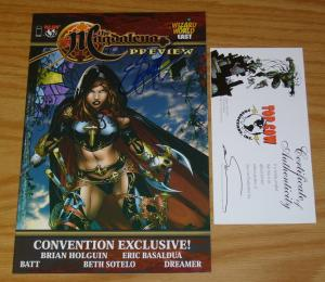 Magdalena Preview #1 VF/NM wizard world east convention exclusive signed w/COA