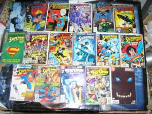 SUPERMAN IN ACTION COMICS (DC Comics), 1989-1997, 16 diff, 0, 640-740