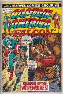 Captain America #164 (Aug-73) NM- High-Grade Captain America