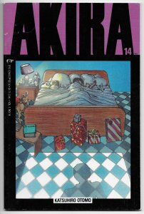 Akira #14 Katsuhiro Otomo (Epic/Marvel, 1989) FN