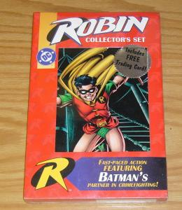 Robin Collector's Set VF/NM still sealed with 6 DC comics + trading card