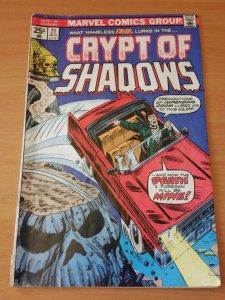 Crypt of Shadows #21 ~ VERY GOOD VG ~ 1975 Marvel COMICS