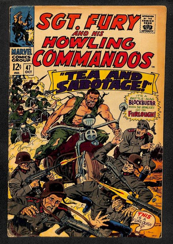 Sgt. Fury #47 (1967)