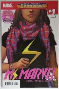 MS MARVEL #1, NM, Halloween Comicfest, Promo, 2018, more Marvel in store
