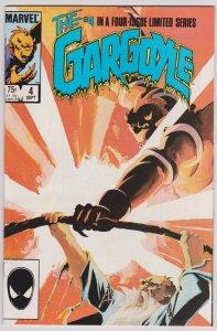 Gargoyle #4 (F) Marvel, 1985 Limited Series