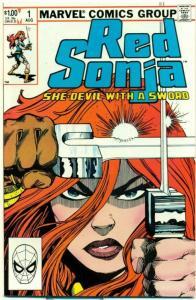 RED SONJA #1, VF/NM, She-Devil, Sword, Dave Simons,1983, more RS in store