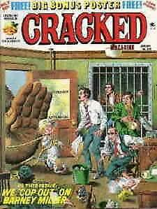 Cracked #139 VG; Globe | low grade comic - save on shipping - details inside