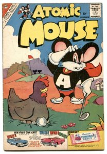 Atomic Mouse #39 1960-Charlton funny animals FN