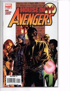 Marvel Comics House of M: Avengers #1 Luke Cage; Iron Fist; Hawkeye; Tigra