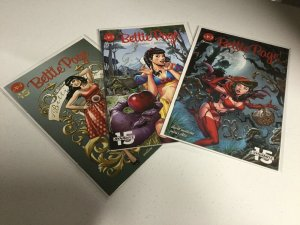 Bettie Page 2 3 4 Nm Near Mint Dynamite Comics