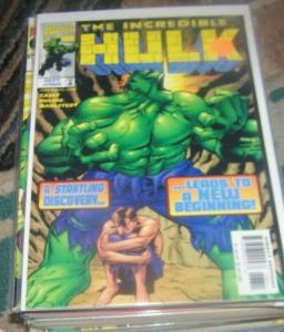 INCREDIBLE HULK  #468  SEPT 1998 marvel   HULKBUSTER BASE BETTY