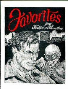 Favorites #1 1989-1st issue-Link Hullar-Frank Hamilton-Tarzan-Flash Gordon-NM
