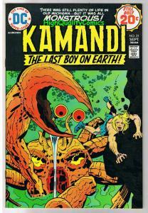 KAMANDI #21, VF/NM, Jack Kirby, Last Boy on Earth, 1972, more in store