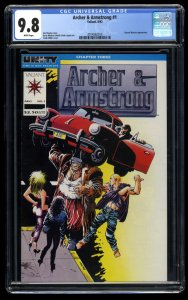 Archer & Armstrong #1 CGC NM/M 9.8 White Pages