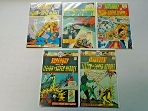 Bronze Age Superboy Comic Lot 25¢ Covers #206-215 9 Diff Avg 6.0 FN (1975-1976)