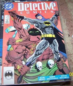 DETECTIVE COMICS  # 602 DC COPPER 1989 BATMAN DC PRE NEW 52 REBIRTH