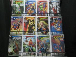 SUPERGIRL  (2005)1(3rdPrint),2-27 BAG & BOARDED!