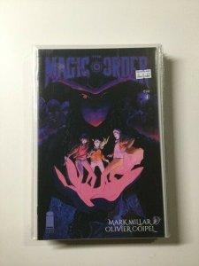Magic Order 4 Variant Near Mint Image Comics HPA
