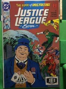 Justice League Europe #43