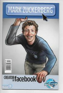 Mark Zuckerberg Biography Comic #1 (Bluewater, 2010) VF/NM