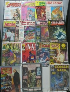 MARVEL MAGAZINE SAMPLE SET! 15 magazines- Howard The Duck, Zombie, Conan, more!