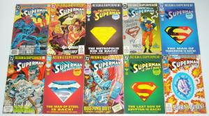 Superman: Reign of the Supermen set of (29) VF/NM superboy - steel - eradictor